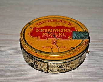 Murrays Erinmore Mixture  tobacco tin