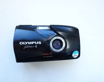 Olympus Mju II 35mm 2.8 with two issues