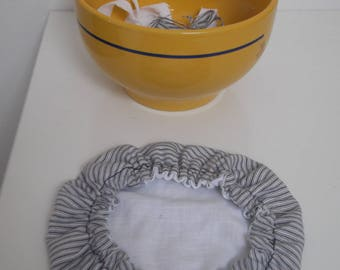 Charlotte conservation/Bowl cover in 100% Cotton - Bowl