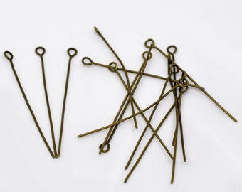 package includes 100 pins/nails at 5 cm eye