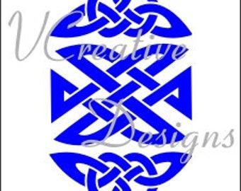 587 Celtic Motifs stencil