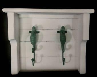 Seahorse rack shelf combo