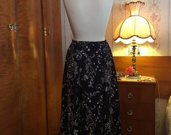 1980's Maxi Skirt