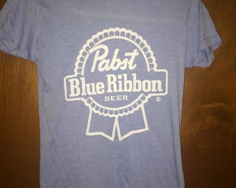 PBR Pabst Blue Ribbon T-shirt - Womens Size M
