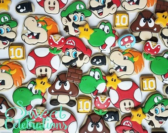 Super Mario Brothers Cookies