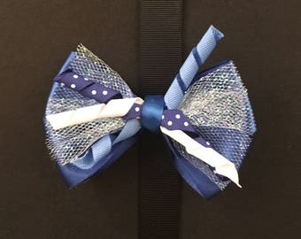 Royal Blue Corker Bow