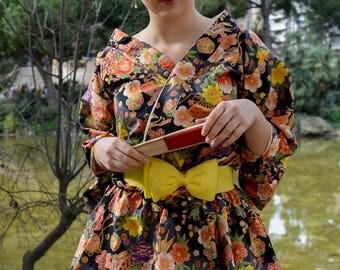Decadent Magnolia Deluxe Kimono Dress set