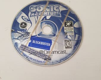 Sonic adventure Sega dreamcast
