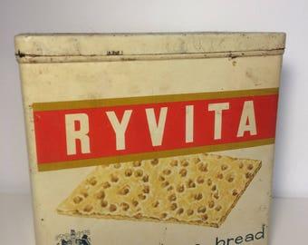 Vintage Ryvita Advertising Tin