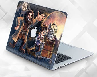 Case with painted Harry Potter Air 13 Macbook Pro 13 Case Macbook Air 11 Case Macbook Pro 15 Case Macbook 12  Macbook Air Case Macbook Case