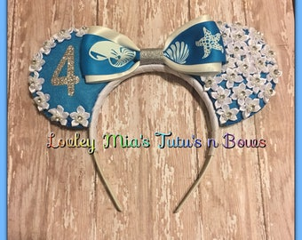 Personalized Mouse Ears Headband