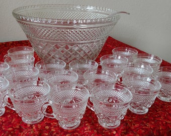 Wexford punch bowl set