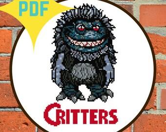 Critters Movie Cross Stitch PATTERN DOWNLOAD