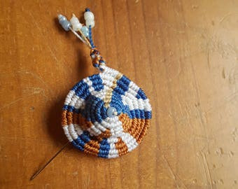 Multicolor small hat pin