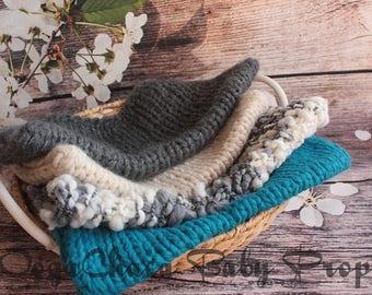 20%OFF* Newborn  Blanket, Baby Blanket, Newborn Wool Blanket, Baby Wool Blanket, Newborn Photo Prop, Baby Photo Prop