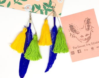 Feather and Tassel