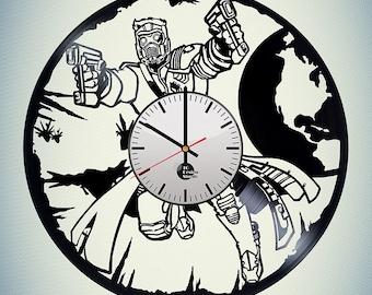 Guardians of the Galaxy Vinyl Record Wall Clock Home Decor
