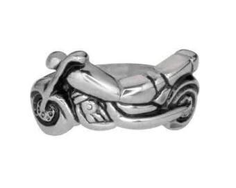 Ladies Motorcycle Bike Ring Stainless Steel Motorcycle Jewelry