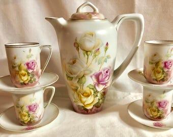 RS Germany Porcelain Chocolate Set