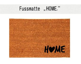 HOME coconut mats carpet foot Abtreter 40 x 60 cm