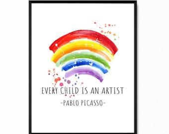 Every Child Is An Artist Etsy