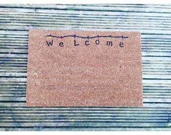 Stranger Things Doormat Welcome
