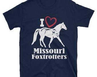 I Love Missouri Foxtrotters Unisex T-Shirt