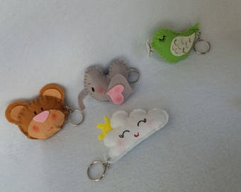 cute keychain personalized gift for friend  personalized gift for women