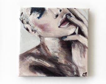 Acrylique sur toile - 20x20cm