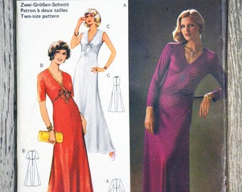 Burda 27677 sewing pattern - dress (Vintage)