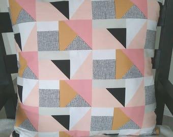 Geometric cushion available 50 x 50