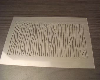 Stencil imitiation wooden P0136w for your pages, cards, your walls