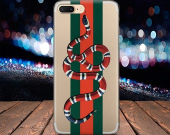Gucci Snake case iPhone 7 case iPhone X case Samsung Note 8 case Gucci Silicone case iPod Touch 6 case Google Pixel case LG G6 case fashion