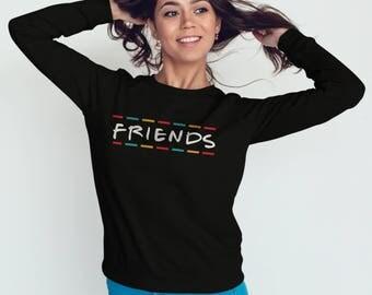 Friends TV Show Clothing Friends TV Show Sweatshirt  #J