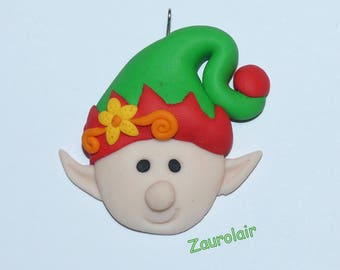 Christmas Ornament - Polymer Clay Christmas Lutter