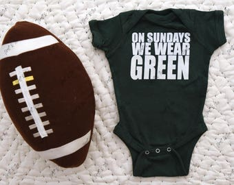 New York Baby, New York Baby Onesie, New York Onesie, Baby, Onesie, Bodysuit, What color does your baby wear on Sunday?