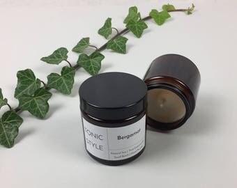 Bergamot Natural Soy Wax Candle