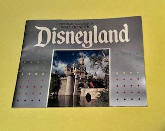 Vintage 1980's Disneyland Pictorial Souvenir Booklet