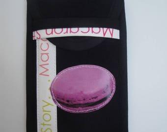 Smart Phone Macaron purple phone case