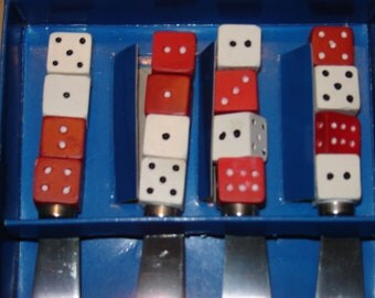 Dice Cheese Spreaders