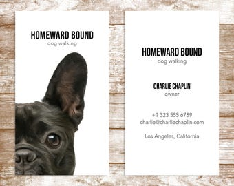 The 'Homeward Bound' Business Card