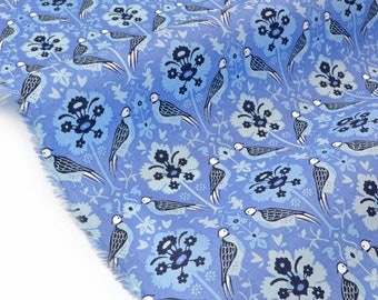 Liberty of London 88x137cm Byrne-blue fabric