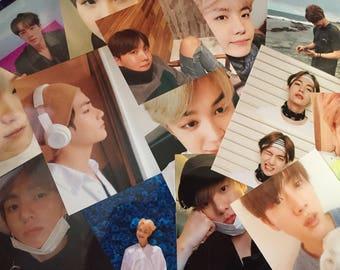 BTS KPOP photocards selfie 3x2 duets [ star version ]