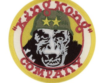 Taxi Driver King Kong Company We People Decorative Costume Patch