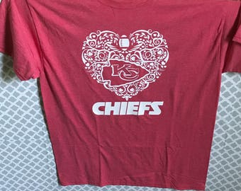 Kansas City Chiefs Heart
