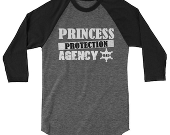T-Shirt Daddy Papa Princess Protection Agency Dad