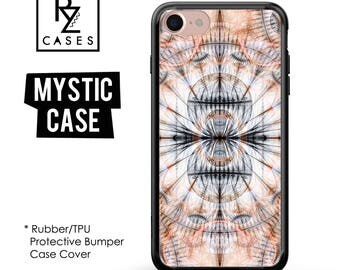 Abstract Phone Case, Gothic Case, Mystic, Geometric Phone Case, iphone 7, iPhone 7 plus, iPhone 6s, iPhone 5, Rubber, Bumper Case