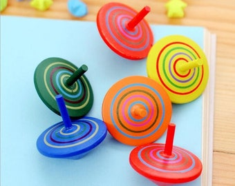 Spiner made of wood, Wooden Hand Spinner,  A gift for children