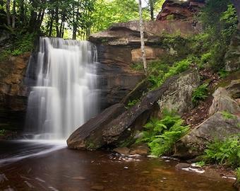 Hungarian Falls Waterfall Photograph