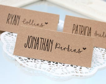 rustic place cards, rustic wedding place cards, country wedding place cards, rustic wedding chic, shabby chic place cards, rustic name cards